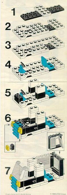 Police - Police Patrol Squad [Lego 6684]