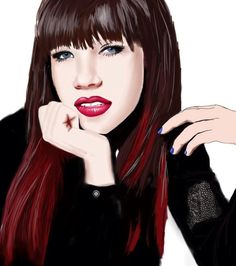Carly Rae Jepsen   Debuted in 2007   Placed third in Canadian Idol season five's competition and was a part of the Canadian Idol Top 3 concert tour   Named by Billboard as 2012's Rising Star   Artwork by Levi Harrison [©2014 bunkhitz]