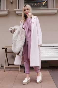 13 Ways to Wear a Pink Coat This Fall -- The Cut