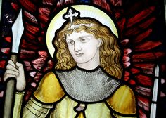 St. Michael the Archangel, Waterford, Herts. by William Morris, 1872