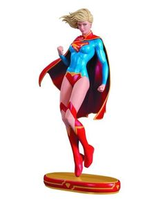 DC COMICS COVER GIRLS SUPERGIRL STATUE - PlayAndCollect