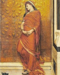 At The Golden Gate. Valentine Cameron Prinsep (1838 -1904)