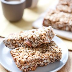 Muesli Bars with a hint of orange // A Sweet Spoonful