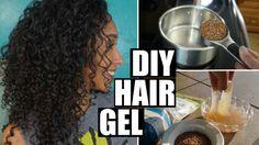 The Best DIY Flax Seed Hair Gel Recipe, Ever