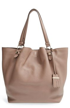 Tod's+'Large+Flower'+Leather+Tote+available+at+#Nordstrom