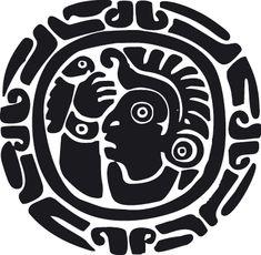 Aztec Symbol 4 | Ethnic wall stickers | Interior design-Garden furniture-designer online uk