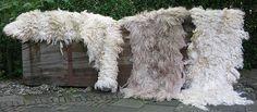 working with raw fleeces by elis vermeulen, via Flickr