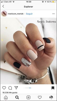 142 top class bridal nail art design for spring inspiration page 19 nail designs for short nails short nail designs 2019 kiss nail stickers nail art stickers walmart best nail stickers 2019 Stylish Nails, Trendy Nails, Cute Acrylic Nails, Cute Nails, Short Square Nails, Bridal Nail Art, Nagel Hacks, Nagel Gel, Nail Decorations