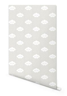 Artículos similares a Juliette Collet Grey Clouds Wallpaper created by Jimmy Cricket en Etsy Cloud Wallpaper, Kids Wallpaper, Baby Deco, Buy Gifts Online, Gifts Australia, Grey Clouds, Free Paper, Kids Decor, Designer Wallpaper