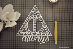 always // harry potter papercut by KiaSuee on deviantART