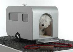 Retro dog house
