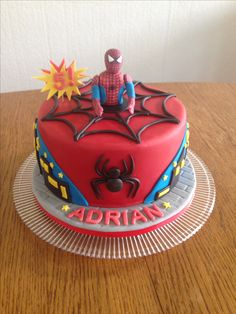 Charlie #1 - $105 with toy spiderman, $125 with fondant character