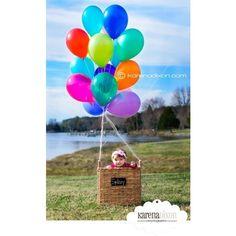 balloon picture idea for nicco 1st bday