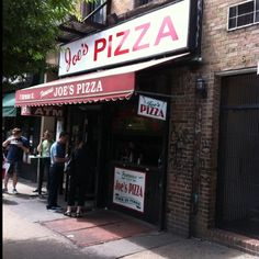 Joe's Pizza, New York City - In the West Village, the original Joe's pizza made famous in the Spider Man film