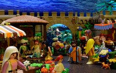 #playmobil #market #mercury #mercado #love #flower #amor #flor #diorama #navidad #natale #nativity #christmas @playmobil #klicks