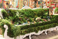 Gypsy Garden Moss Couch