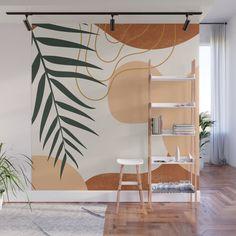 Wall Painting Living Room, Wall Painting Decor, Mural Wall Art, Diy Wall Decor, Bedroom Murals, Bedroom Wall, Bedroom Decor, Creative Wall Painting, Earthy Home Decor