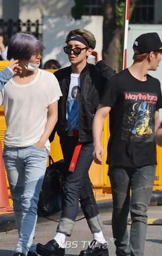 150522 По пути на Music Bank