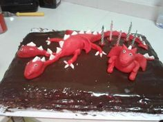 Tarta de dragones