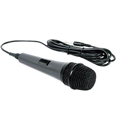 Singing Machine SMM-205 Unidirectional Dynamic Microphone with 10 Ft. Cord  http://www.discountbazaaronline.com/2015/12/08/singing-machine-smm-205-unidirectional-dynamic-microphone-with-10-ft-cord/