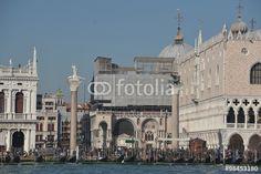 Der Piazza San Marco in Venedig