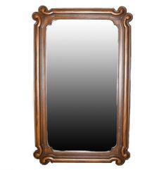 "Vintage Drexel ""Mariano Fruitwood"" Wall Mirror"
