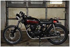 1974 Honda CB360 - Relic Kustoms What a beautiful bike.