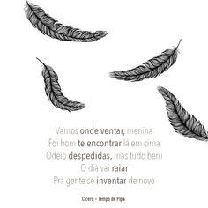 MUSICA DO DIA #526: C�CERO - TEMPO DE PIPA