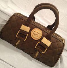 MK purse cake.