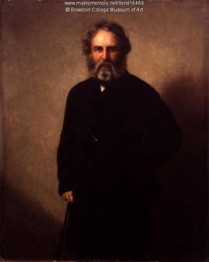 Portrait of Henry Wadsworth Longfellow, 1862. Bowdoin College received this portrait of Henry Wadsworth Longfellow created by G. P. A. Healy for Longfellow's publisher, James T. Fields, as a bequest from Mrs. Annie Louise Cary Raymond after her own patient 30-year wait to acquire it. Item # 16469 on Maine Memory Network