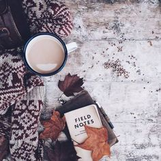 Styling flatlays  | Flat lay photo inspiration | Winter cosy | Rustic