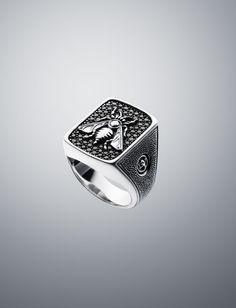 Pave Black Diamond Petrvs Wasp Ring