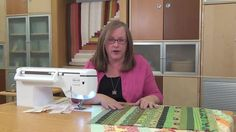 Secrets for Sewing Long Strips from All People Quilt ~ This is a short and quick video with useful tips to keep long narrow strips from bowing. Keep watching and more videos with quick tips will keep playing! A great resource to keep handy for your next project with fabric from the Fabric Shack at http://www.fabricshack.com/cgi-bin/Store/store.cgi