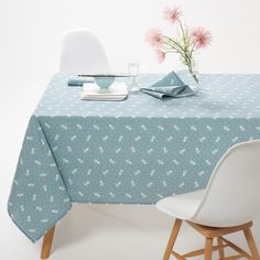 Agasta Printed Polycotton Tablecloth
