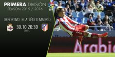 DEPORTIVO VS ATLETICO MADRID. Support Bet WIN… For more information www.betboro.com