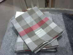 Design theme of the month: textiles. Ernst kitchen towels from our shop. Kitchen Towels, Satchel, Textiles, Interior Design, Pattern, Bags, Shopping, Nest Design, Handbags