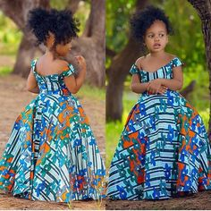 Latest Ankara Dress Styles - Loud In Naija Ankara Styles For Kids, African Dresses For Kids, African Wear Dresses, Ankara Dress Styles, African Fashion Ankara, Latest African Fashion Dresses, African Print Fashion, African Attire, African Kids