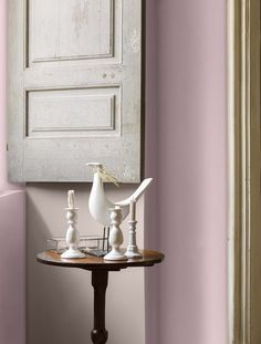 peinture rose, grège Dulux Valetine