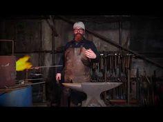 Forging the Blacksmiths Knife. - YouTube