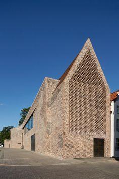 Europäisches Hansemuseum in Lübeck - Mauerwerk - Kultur