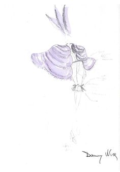 1993-94 Collection  Danny Wise Haute Fourrure Official Amazing Sketches of the Genius Creative of N.H. Danny Wise .