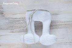 Crochet Smurf amigurumi pattern - body