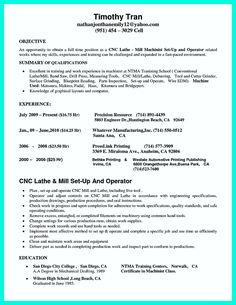 Machinist Resume Objective Awesome Perfect Crna Resume To Get Noticedcompany Check More At .