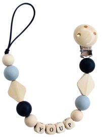 Speenkoord met naam   Lovelinn Teething Necklace, Jewelry, Jewlery, Jewerly, Schmuck, Jewels, Jewelery, Fine Jewelry, Jewel