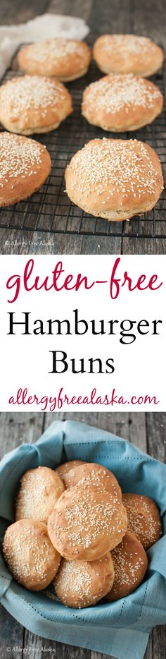 Gluten Free Hamburger Buns Recipe from Allergy Free Alaska