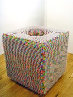"""Politically Charged Installations Made of Colorful Edibles 