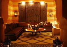 Moroccan Furniture with Classic Decor