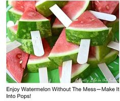 They should do this for the watermelon stand at greystone