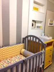Resultado de imagem para quarto de bebe menino amarelo cinza azul