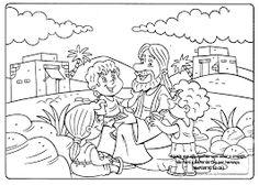 Resultado de imagem para imagens biblica para colorir
